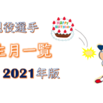 "<span class=""title"">【カープ】現役選手の誕生月2021年版|一番多いのは〇月生まれ!</span>"